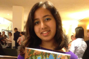 Dubai girl releases first book at the UN