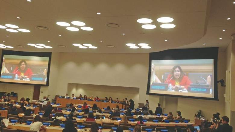 16-year-old Dubai girl pitches for gender equality at UN