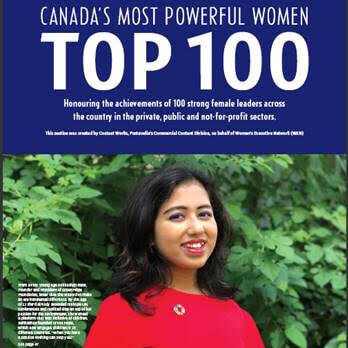 Canada's Most Powerful Women: Top 100 Award Winner & RBC Future Leader